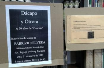 Exposición de Fabrizio Silvera en la Biblioteca Eduardo Acevedo Díaz