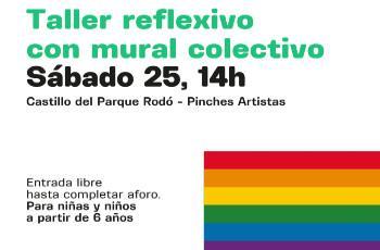 ¡Somos diversidad! Taller reflexivo con mural colectivo
