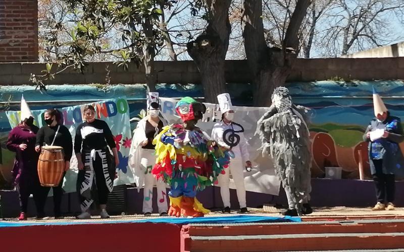 Festejo de la primavera en Santiago Vázquez