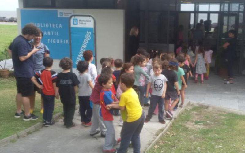 Visitas de Instituciones educativas y sociales a las Bibliotecas Públicas de Montevideo