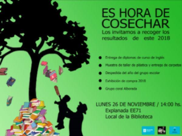 Es hora de cosechar - Biblioteca Felisberto Hernández