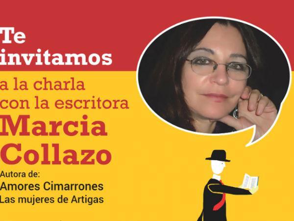 Charla con la escritora Marcia Collazo
