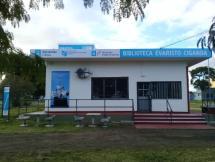 Reapertura de la biblioteca Evaristo Ciganda