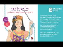 """Presentación del libro """"Mirela y el Día Internacional de la Mujer"""" de Ana Prestes"""